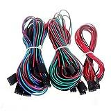 Pour les kits Arduino, 14pcs câbles de câblage complets pour imprimante 3D RepRap rampes de moteur 1.4 butées thermistances Pour Arduino.