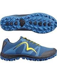 More Mile Cheviot 4 para hombre Trail Zapatillas de running, color azul, ...