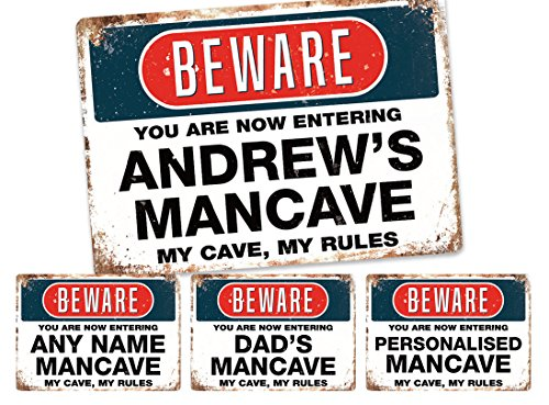 personalised-mancave-sign-metal-wall-sign-plaque-art