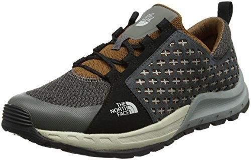 The North Face Herren Mountain Sneaker Trekking-& Wanderhalbschuhe, Mehrfarbig (Graphite Grey/Tagumi Brown), 44 EU (Running Face Shoes North)