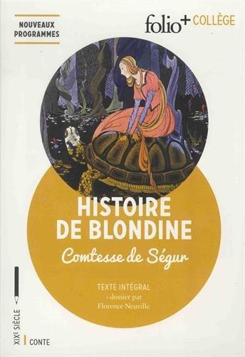 Histoire de Blondine