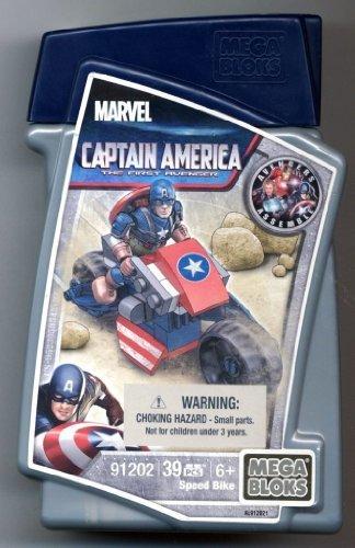 Mega Bloks Marvel Captain America Stark-Lab 39 pcs