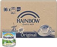 Rainbow Original Vitamin D Evaporated Liquid Milk - 96 x 170 gm