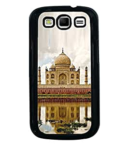Fuson Premium 2D Back Case Cover Taj mahal With blue Background Degined For Samsung Galaxy S3 Neo::Samsung Galaxy S3 Neo i9300i