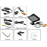 Image of 4.3 Inch Wireless Rearview Parking Monitor - Weatherproof Nightvision Camera - Comparsion Tool