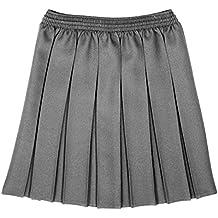 CKL Las niñas School Wear All Round elástica Caja Plisado Falda Uniforme  Escolar Faldas 810266b19795