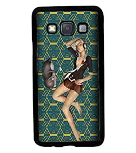 Fuson 2D Printed Girly Designer back case cover for Samsung Galaxy A3 A300F - D4601