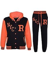 Veste de survêtement pour enfant avec capuche motif fox & pantalon de baseball