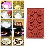 Nicebuty 8-cavity ciambella ciambella di cottura della muffa torta al cioccolato caramelle sapone stampo in silicone