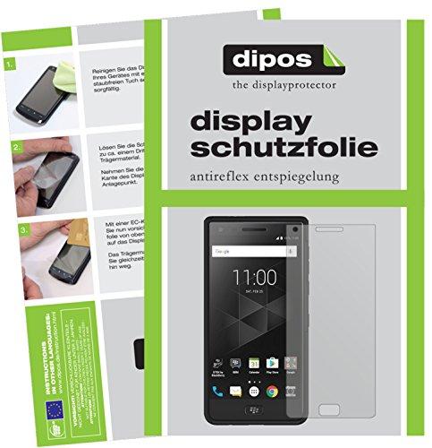 dipos I 2X Schutzfolie matt passend für BlackBerry Motion Folie Bildschirmschutzfolie