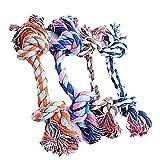 Hosaire 1X Durevole,Giocattoli Della Corda Pet Domestici,colore casuale,grande( lunghezza 28 centimetri)