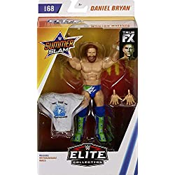 WWE Elite Serie 68 Daniel Bryan Action Figure Wrestling 18cm Mattel
