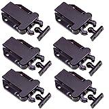 6 STÜCKE WCIC Magnetische Touch Verschlüsse Push to Open Tür Rebar Schublade Schrank Latch ABS