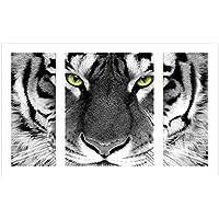 Broadroot 5D-Diamantbild Tiger, komplett gebohrt, DIY-Malset