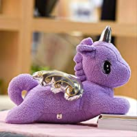 LOVEYUNHJG Plush Toy Unicorn Doll Doll Holds Pillow For Children