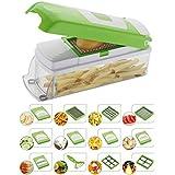 Vegetable & Fruit Chipser With 11 Blades + 1 Free peeler inside, vegetable chopper , vegetable slicer (11 blades + 1 pillar)