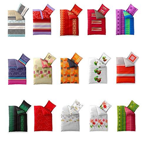aqua-textil Bettwäsche Set Baumwolle atmungsaktiv Kissen Bezug Trend Isabis