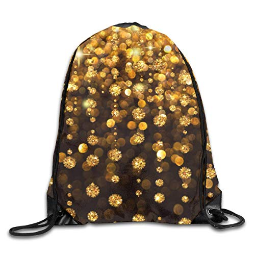 HLKPE Cool Glitter Drawstring Bag for Traveling Or Shopping Casual Daypacks School Bags