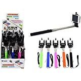 Diamond Visions 01-1476 Extendable Selfie Stick In Assorted Colors (1 Selfie Stick)