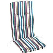 BEST 05091162 - Cojín para sillas de exterior (alto), color multicolor