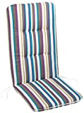 BONUS ET SALVUS TIBI (BEST) BEST 05091162 - Cojín para sillas de exterior (alto), color multicolor