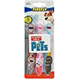 The Secret Life Of Pets 3-Pack Toothbrushes (Max,Snowball, Duke) - 2 Packs Total Of 6 Toothbrushes
