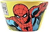 Multicoloured Stoneware Cereal or Soup Bowl - Marvel (Spider Man)