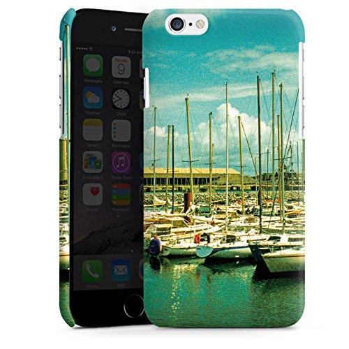 Apple iPhone 4 Housse Étui Silicone Coque Protection Port Bateaux Bateaux Cas Premium brillant