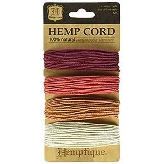 Hemptique Hemp Card (Set of 4) Coral Reef