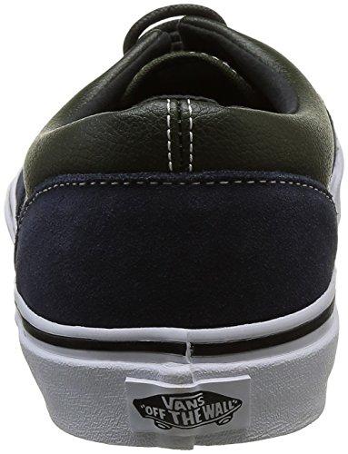 Vans Era Unisex-Erwachsene Sneakers Mehrfarbig ((Suede & Leather) Parisian Night/Rosin)