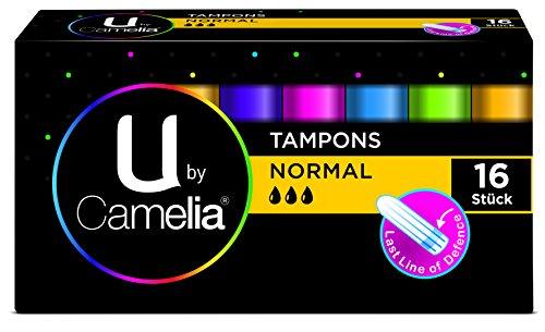 U by Camelia Tampons Normal Probiergröße, 16 Stück