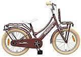 .volare Bici Bicicletta Bambina Excellent 18 Pollici Rosa Antico 95% Assemblata
