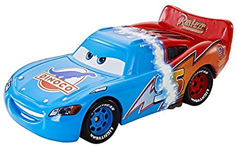 Disney Pixar Cars Diecast Transforming Lightning McQueen - véhicule miniature