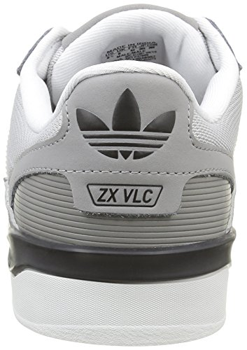 adidas Herren ZX Vulc Sneaker Grau (Ch Solid Grey/Ftwr White/Core Black)