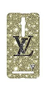 Vogueshell LV Sign Printed Symmetry PRO Series Hard Back Case for Asus Zenfone 2