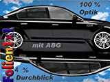 Profi Auto Tönungsfolie 3M FX-ST 5 96%schwarz 75 cm x 150 cm