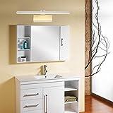 HMer LED Spiegelleuchte Schranklampe Spiegel Frontleuchte modern Bad Wandleuchte Spiegelschrank Licht Wandleuchte warmweißes Licht 58cm 10W