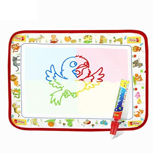 Fornateu Kid Aqua Magic 4 Farben Malerei Matten-Kinder Schreiben Doodle Pad Wasser Zeichnung Blanket Spielzeug (Lernen, Zu Zeichnen, Cartoons Für Kinder)
