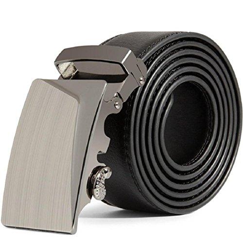 Vovotrade® Cintura Uomini Leather automatico Fibbia Cinture della vita di modo da cintura