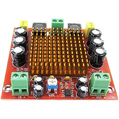 Kissing U Estéreo 150W Mono TPA3116D2 de alta Potencia Amplificador de Energía Audio Digital Junta DC12-26V AMP Amplificadores Módulo del Tablero de Control para cine en casa y Audio de