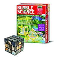 Belair Gallery Create Your Own Bubble Science Experiments - FREE Puzzle Science & Creative Thinking Set - Gift Present For Christmas Xmas Stocking Filler Birthdays Toys Games Children Boys Girls Girl
