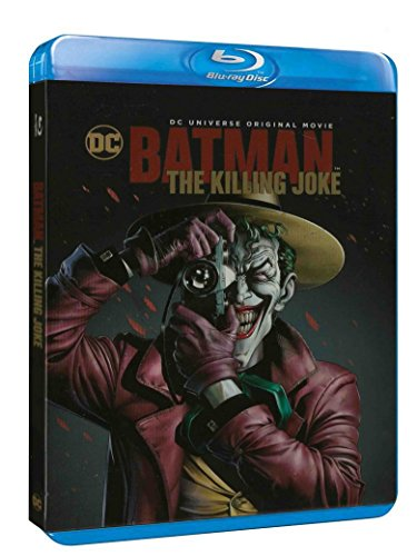 Le blu-ray de Batman : The Killing Joke, récit fondateur et animé
