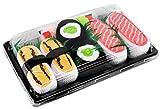 Sushi Socken 3 Paar Tamago-Omelett, Maki-Sushi mit Gurke, Lachs EU 36-40 in Europa hergestellt, ideal als Geschenk Originelle Socken bester Qualität, mit Öko-Tex-Zertifikat