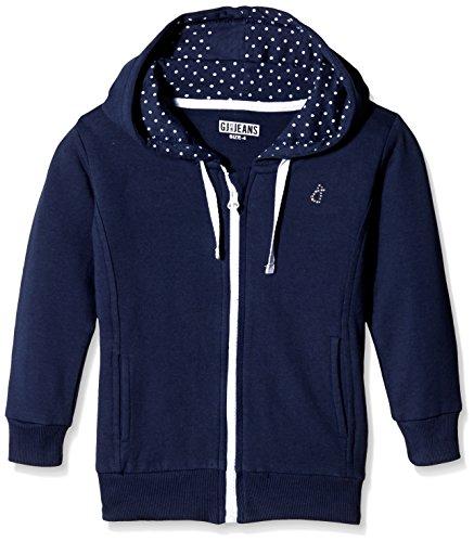 Gini & Jony Baby Girls' Jacket (112092668831 1129_Dark Blue_12-18 Months)
