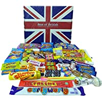 Best of British Gift Box of Retro Sweets: 100% Made in Britain