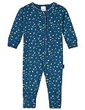 Schiesser Baby-Mädchen Zweiteiliger Schlafanzug Anzug mit Vario Fuß, Blau (Dunkelblau 803), 74 (Herstellergröße: 074)