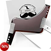 Kindax Pettine Modello Barba All-In-One per Mantenere la Forma della Barba c9bdf1e436c