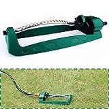 Aolvo Garden Turbo Sprinkle oscillante con 15beccucci quattro gradi regolabile irrigazione sprinkler, acque Bridge tetto vegetali giardinaggio fino a 8–10meters, ideale per giardino, verde