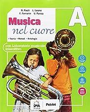 Musica nel cuore. Per la Scuola media. Con e-book. Con espansione online. Con Libro: BES. Con DVD-ROM: A-B