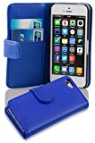 Cadorabo Apple iPhone 5C Etui de Protection LISSE en BLEU CÉLESTE – Coque...
